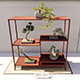 Bonsai Shelf 2 - 3DOcean Item for Sale