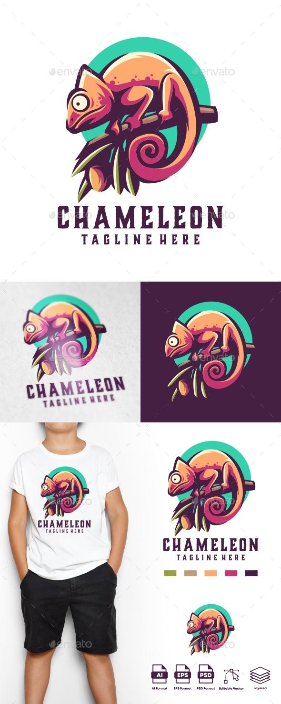 Chameleon Logo Templates
