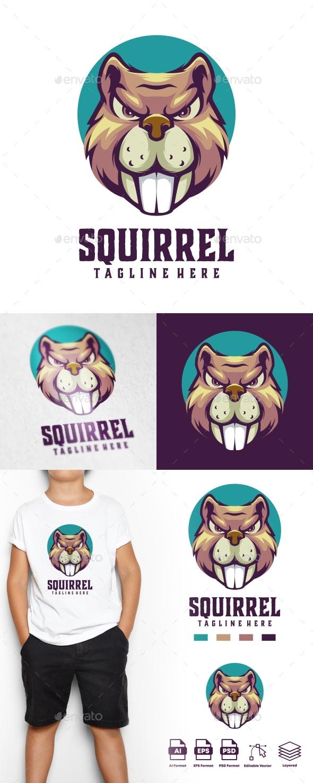 Squirrel Logo Templates