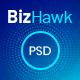 BizHawk - Corporate Agency PSD Template - ThemeForest Item for Sale