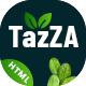 TazZA - Organic Food HTML5 Template - ThemeForest Item for Sale