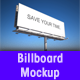 Highway Billboard Mockup - GraphicRiver Item for Sale