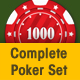 Complete Poker Set - GraphicRiver Item for Sale