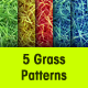 Seamless Grass Patterns - GraphicRiver Item for Sale