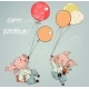 Pig Boys Fly with Balloons and Flowers - GraphicRiver Item for Sale
