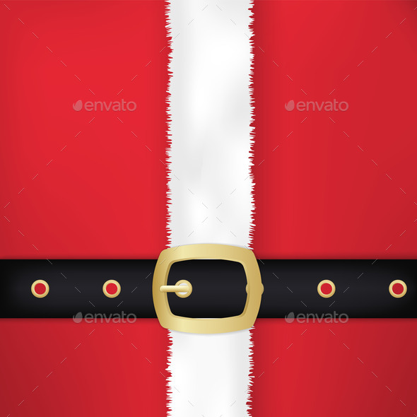 Santa Claus Belt and Coat