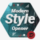 Modern Style Opener - VideoHive Item for Sale
