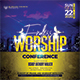 Endless Worship Church Flyer/Poster - GraphicRiver Item for Sale