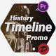 History Memories Timeline Promo - VideoHive Item for Sale