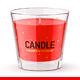 Candle Mockup Set 2 - GraphicRiver Item for Sale