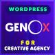 Genox - Creative Gutenberg WordPress Theme - ThemeForest Item for Sale