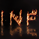 Inferno - Animated Fire Typeface | After Effects Template - VideoHive Item for Sale
