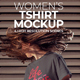 Women's T-shirt Mockup - GraphicRiver Item for Sale