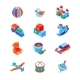Toys and Leisure Games for Children - Modern - GraphicRiver Item for Sale
