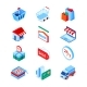 Online Shopping and Delivery - Modern Isometric - GraphicRiver Item for Sale