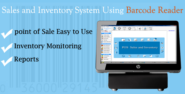Sales and Inventory System Using Barcode Reader Download