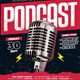 Podcast Flyer - GraphicRiver Item for Sale