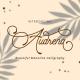 Audrena - Monoline Font - GraphicRiver Item for Sale