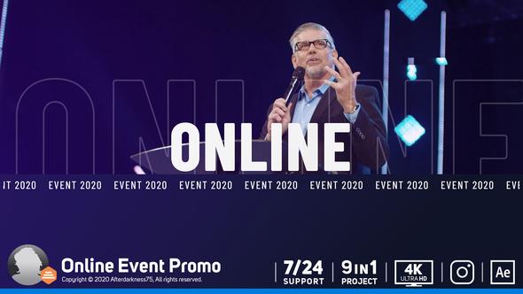 Online Event Promo