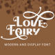 Love Fairy - Modern Display Font - GraphicRiver Item for Sale