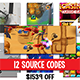 Super Bundle of 12 Premium Unity Games- Save $1539 for a Super bundle of 12 premium Unity source cod - CodeCanyon Item for Sale