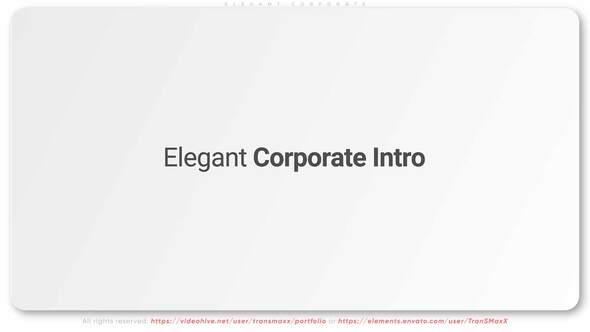 Elegant Corporate Intro