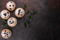 Blueberry muffins on wood background - PhotoDune Item for Sale