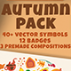 Cozy Autumn Pack - GraphicRiver Item for Sale