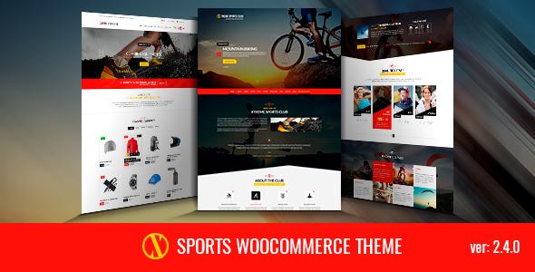 Xsports - Xtreme Sports Theme