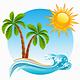 Tropical island - GraphicRiver Item for Sale
