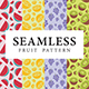 Seamless Fruit Pattern Set - GraphicRiver Item for Sale