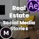 Real Estate Social Media Stories for Instagram, Facebook, Snapchat - VideoHive Item for Sale