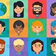 Diverse People Avatars Set - GraphicRiver Item for Sale