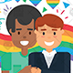 Happy Homosexual Couples Images - GraphicRiver Item for Sale