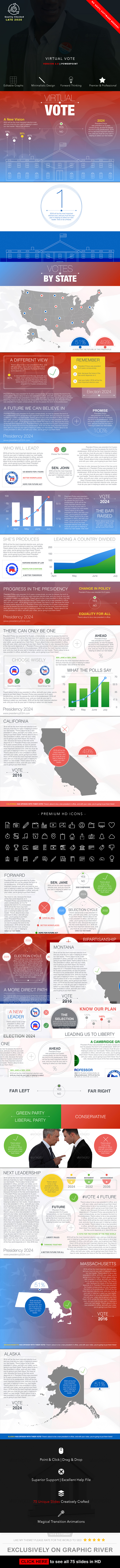 Virtual Vote PowerPoint Presentation