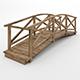 Bridge with handrails - 3DOcean Item for Sale