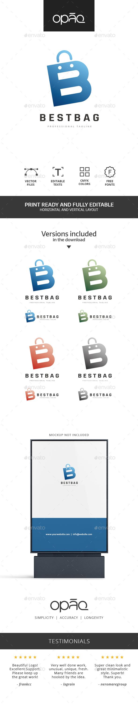 Bag B Letter Logo