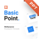 Basic Point Multipurpose PowerPoint Presentation Template Template Fully Animated - GraphicRiver Item for Sale