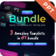 Dark Theme Bundle 3 in 1 PowerPoint Presentation Template Template Fully Animated - GraphicRiver Item for Sale