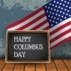 Columbus Day with Usa Flag - GraphicRiver Item for Sale
