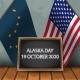 Flag of Alaska and Usa - GraphicRiver Item for Sale