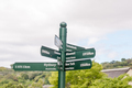 Sign post at Kirstenbosch National Botanical Gardens - PhotoDune Item for Sale