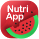 NutriMe   Online Nutrition Info Mobile App and Landing Page Figma Template - ThemeForest Item for Sale