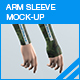 Arm Sleeve Mock-up - GraphicRiver Item for Sale