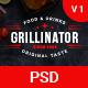 Grillinator - Restaurant & Cafe PSD Template - ThemeForest Item for Sale