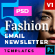5 Fashion Email Newsletter PSD Templates v1 - GraphicRiver Item for Sale