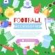 Football Background Paraphernalia Sport Bar, Flag - GraphicRiver Item for Sale
