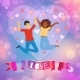 Background Love Happy Couple, Loving Couple - GraphicRiver Item for Sale