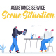 Assistance service - Scene Situation - VideoHive Item for Sale