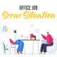 Office job - Scene Situation - VideoHive Item for Sale